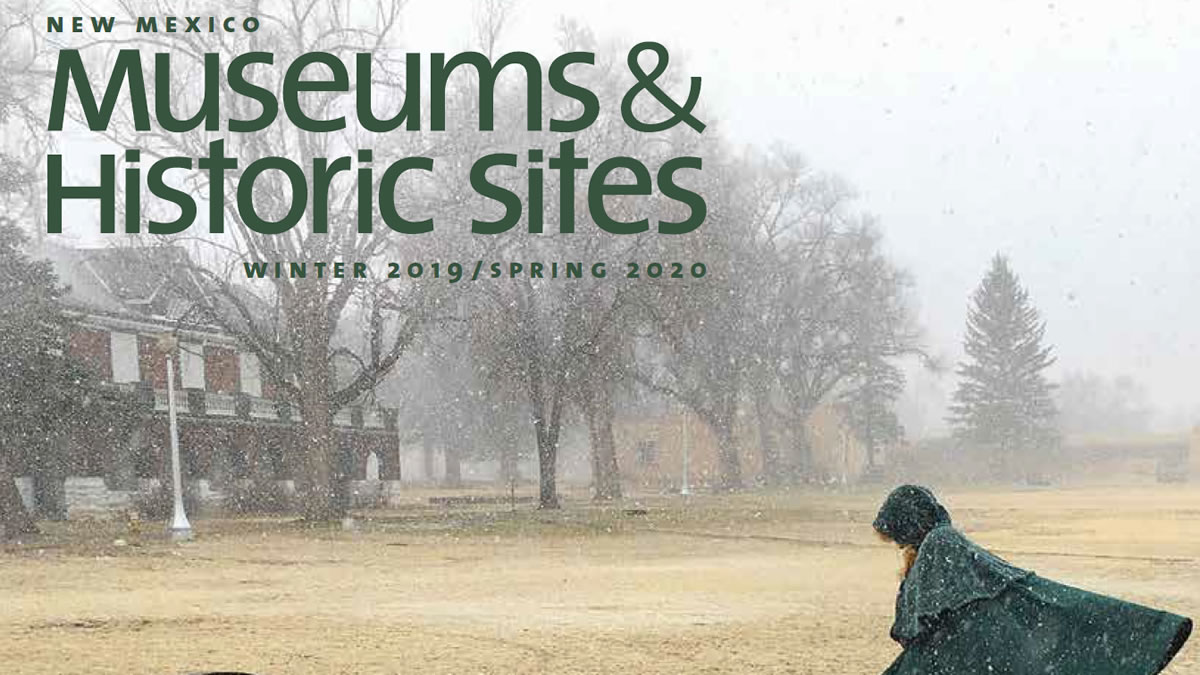 New Mexico Museums & Historic Sites Guide Cover
